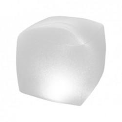 Pływająca lampa LED Light Intex 28694 o wymiarach 22x23x23 cm.
