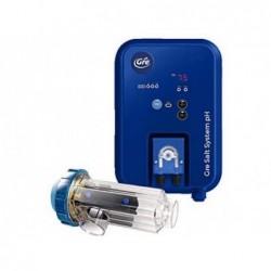 Chlorator z elektrolizą soli do 60.000L dla basenów Gre SCGPHP60