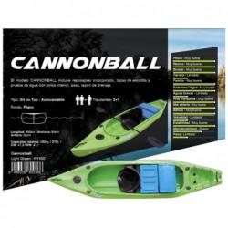Kajak Cannonbal marki Kohala 400x84x36cm, firmy Ociotrends KY400 | Basenyweb