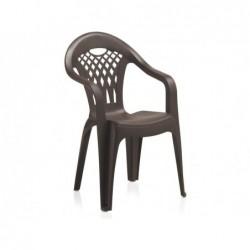 Krzesło do mebli ogrodowych Model Cancun Wengue SP Berner 43026