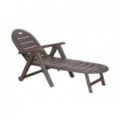 Leżak do mebli ogrodowych model Caiman Wengue SP Berner 42584