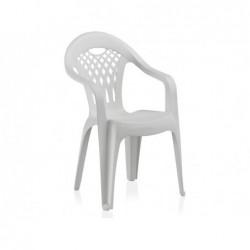 Meble ogrodowe Krzesło białe Cancun SP Berner 43027