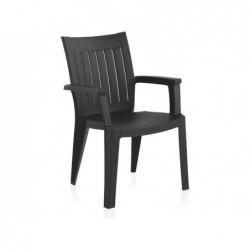 Meble ogrodowe krzesło Model Pacific antracyt SP Berner 55047