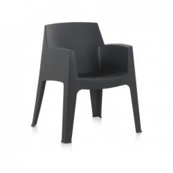 Krzesło do mebli ogrodowych Model Master Antracyt Berner 55244