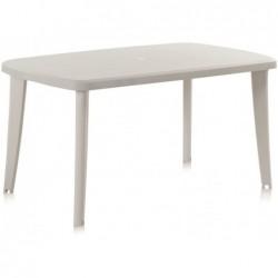 Stół do mebli ogrodowych Model Tonelle Biały SP Berner 55125