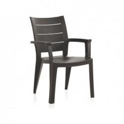 Krzesło do mebli ogrodowych Model Legno Wengue SP Berner 55232   Basenyweb