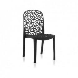 Krzesło do mebli ogrodowych Model Flora Antracyt SP Berner 55396