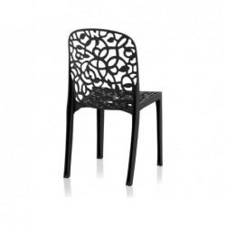 Krzesło do mebli ogrodowych Model Flora Antracyt SP Berner 55396 | Basenyweb