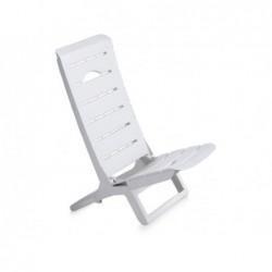 Krzesło do mebli ogrodowych model Parsy białe SP Berner 55077
