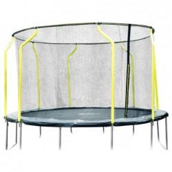 Łóżko elastyczne Wave 260x366x366 cm. Plum 30248