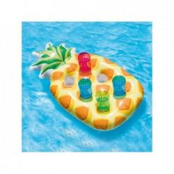 Tacka z uchwytami na napoje w kształcie ananasa Intex 57505 Piña 97x58 cm   Basenyweb