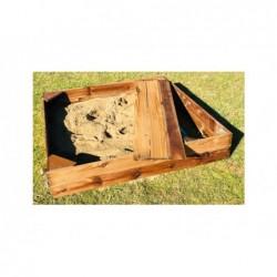 Piaskownica dla dzieci Kassi Prostokątna 120x150 cm z Masgames MA600082