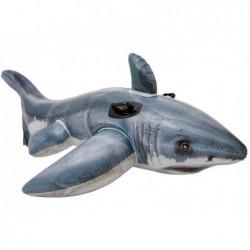 Nadmuchiwane biały rekin o wymiarach 173x107 cm. Intex 57525