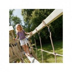 Mostek dla placu zabaw dla królików o wymiarach 200 x 50 cm. Masgames MA803401