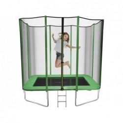 Trampolina dla dzieci Deluxe prostokątna M Masgames MA302418 | Basenyweb