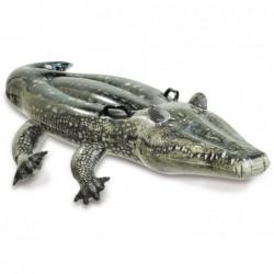 Nadmuchiwany krokodyl o wymiarach 170x86 cm. Intex 57551