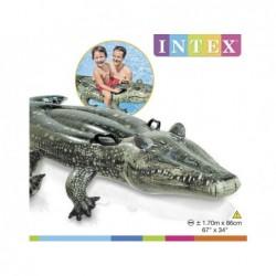 Nadmuchiwany krokodyl o wymiarach 170x86 cm. Intex 57551 | Basenyweb