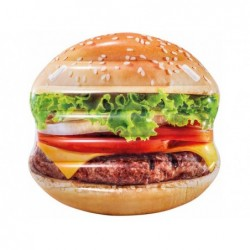 Nadmuchiwany materac  Hamburger 145x142 cm. Intex 58780