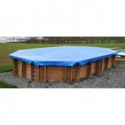 Zimowa okładka GRE 621104 na baseny o wymiarach 872 x 472 cm.