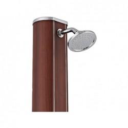 Prysznic Słoneczny Okrągły Aspect Wood Z Umywalką 32 Litrów Gre Dsalr32w | Basenyweb