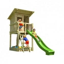 Plac zabaw z domkiem Beach Hut XL Masgames MA802301