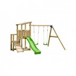 Plac zabaw z podwójną huśtawką Mini Cascade Masgames MA811521