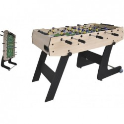 Składana piłka nożna stołowa 121X61X80 cm.