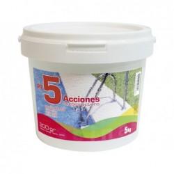 Chlor 5 akcji Powolne rozpuszczanie Kanister 5 kg PQS 55705