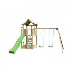 Plac zabaw z podwójną huśtawką Pagoda XL Masgames MA821601