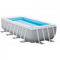 Odpinany basen o wymiarach 400 x 200 x 100 cm. . Prism Frame Premium Intex 26788
