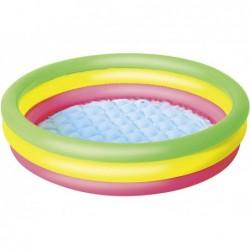 Nadmuchiwany basen z 3 pierścieniami. 102 x 25 cm