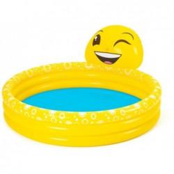 Nadmuchiwany basen dla dzieci 165x144x69 cm. Emoji Bestway 53081