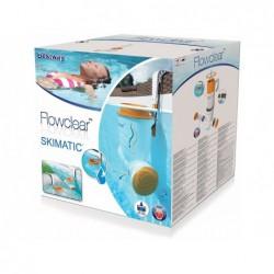 Pompa filtrująca oraz skimer 2w1 Skimatic 2574l/h Bestway 58462   Basenyweb