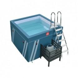 Basen Mini Fit's Aquafitness 128x184x184 cm.