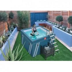 Basen Mini Fit's Aquafitness 128x184x184 cm. | Basenyweb