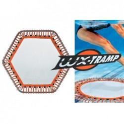 WX Tramp Premium Trampolina wodna 34x112x112 cm. Exagonal Poolstar WX-TR3-HEXA | Basenyweb