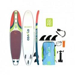 Nadmuchiwana deska surfingowa Coasto Air Surf 8 Poolstar PB-CAIRS8B z 244x57 cm.   Basenyweb