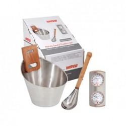 Zestaw akcesoriów do tradycyjnej sauny 4 sztuki. POOLSTAR SN-SA006